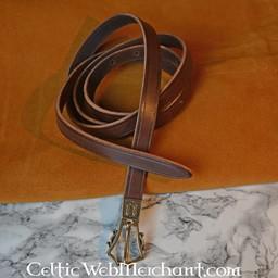 Cinturón gótico del siglo XIV