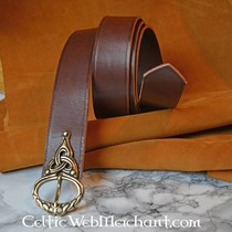 Celtic Bart Perle mit Spiralen Bronze
