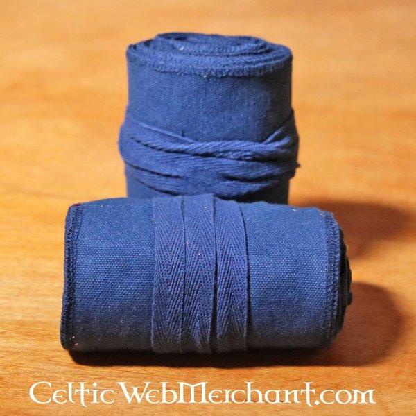 Owijki na nogi Ubbe, niebieskie