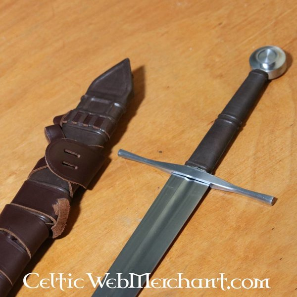 Red dragon Miecz półtoraręczny, bitwa gotowy hartowanego