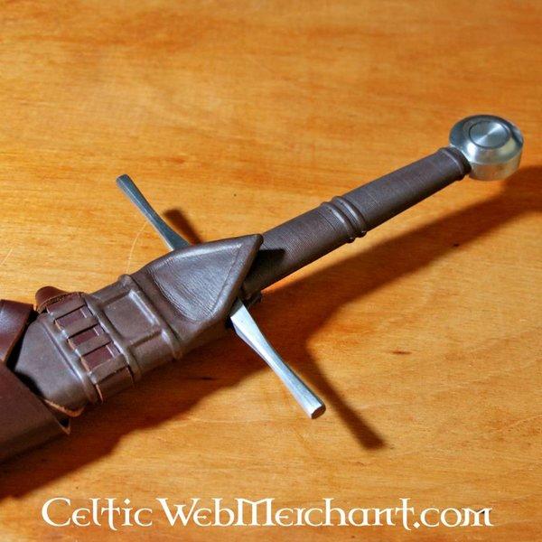 Red dragon Hand anderthalb Schwert, kampfbereit temperiert