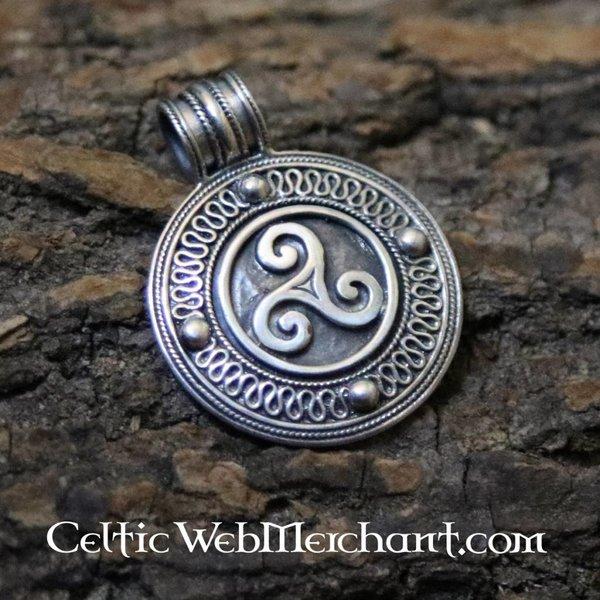 Irish triskelion pendant