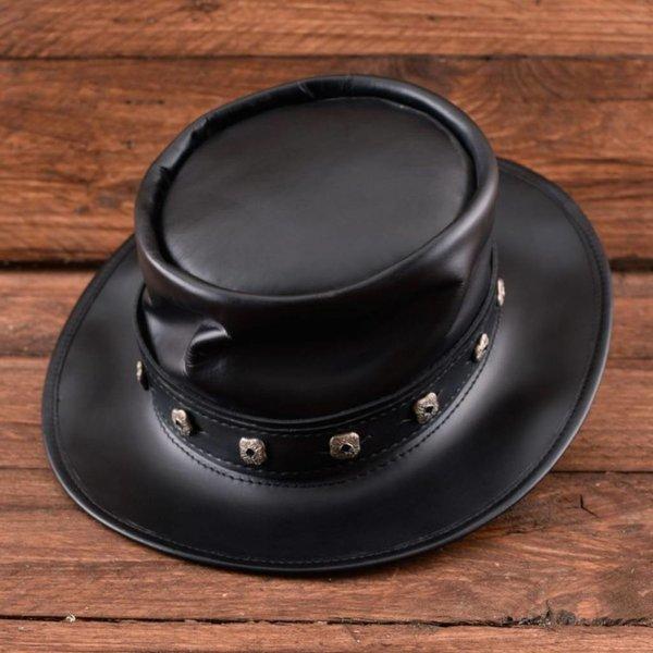 Hat rewolwerowiec, czarny
