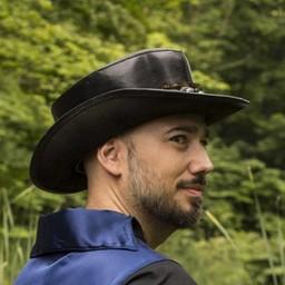 Hat Deadwood, black
