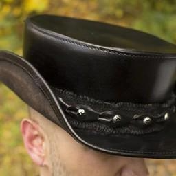 Hoed Deadwood, zwart