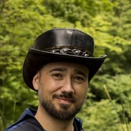 Hat Deadwood, czarny