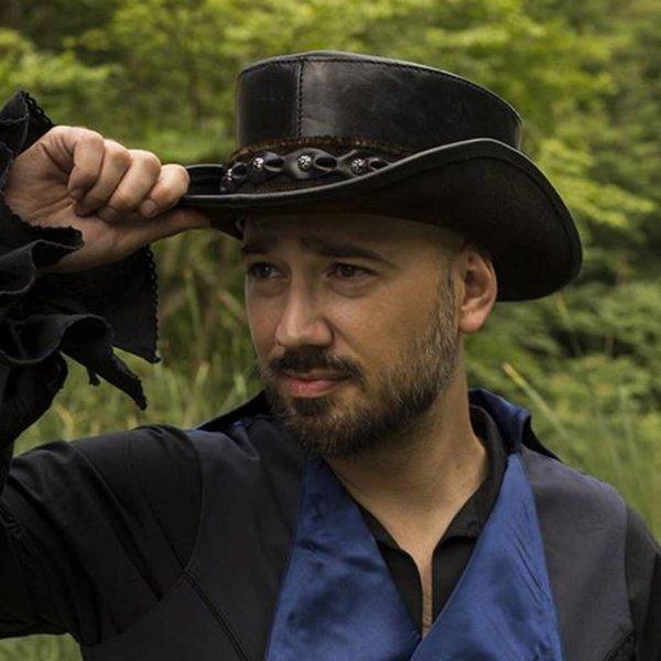 Epic Armoury Hat Deadwood, black