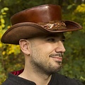 Epic Armoury Cappello Deadwood, marrone