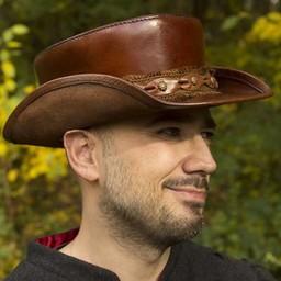 Hat Deadwood, brązowy