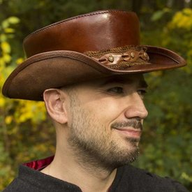 Epic Armoury Chapeau Deadwood, marron