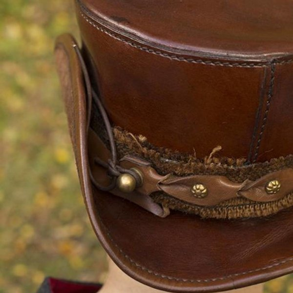 Epic Armoury Hat Deadwood, brown