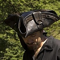 Epic Armoury Tricorn Blackbeard, negro