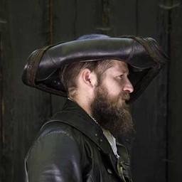 Dreispitz Blackbeard, schwarz