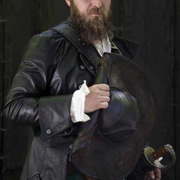 Epic Armoury Tricorn Blackbeard, zwart