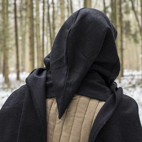 Epic Armoury Hood Assassins Creed, noir