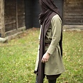 Epic Armoury Kap Assassins Creed, donkerbruin