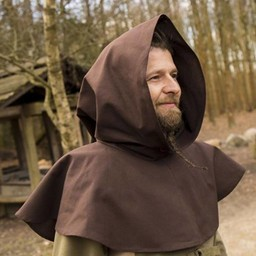 Medieval Chaperon Walt, braun