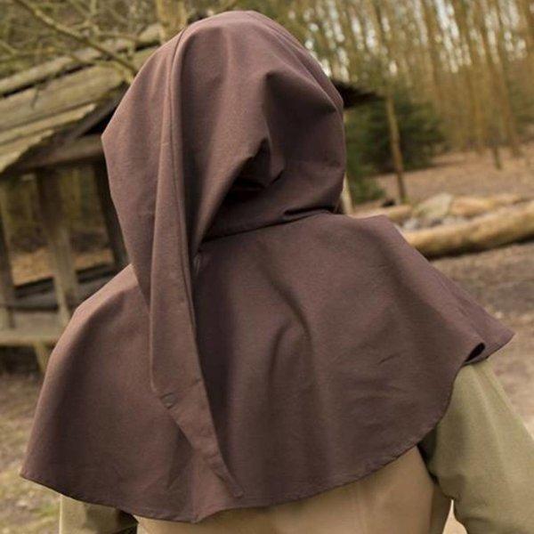 Epic Armoury Middeleeuwse kaproen Walt, bruin