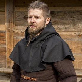 Epic Armoury Medieval chaperon Walt, czarny