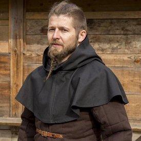 Epic Armoury Medieval Chaperon Walt, schwarz