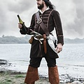 Pirat frakke Teach, brun
