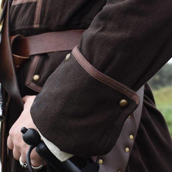 Pirat coat Teach, brun