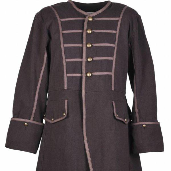 Pirate coat Teach, brown