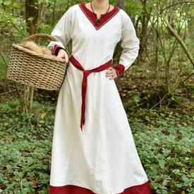 Robe Viking Helga, rouge naturel