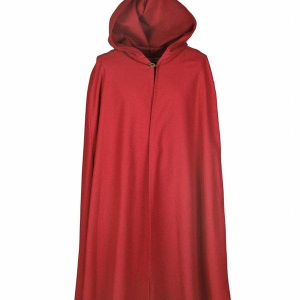 Bomuld kappe Ellyn, rød