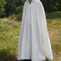 Katoenen mantel Ellyn, wit
