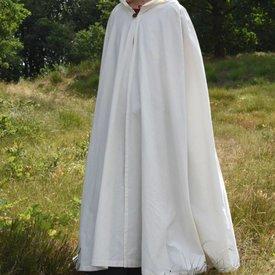 Mantello di cotone Ellyn, bianco