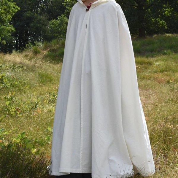 Bawełniany płaszcz Ellyn, biały