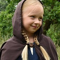 Cape pour enfant Arthur, marron