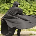 Epic Armoury Mantello da viaggio in lana, nero