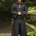 Epic Armoury Medieval szata Benedict, czarny