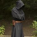 Epic Armoury Bata medieval benedictina, negra.