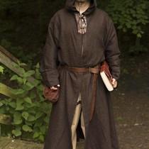 Epic Armoury Middeleeuws gewaad Benedict, bruin