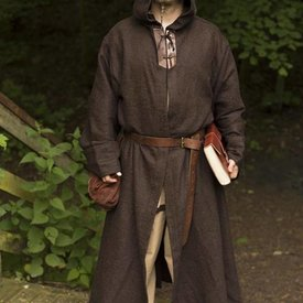 Epic Armoury Medeltida dräkt Benedict, brun