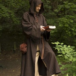 Middeleeuws gewaad Benedict, bruin