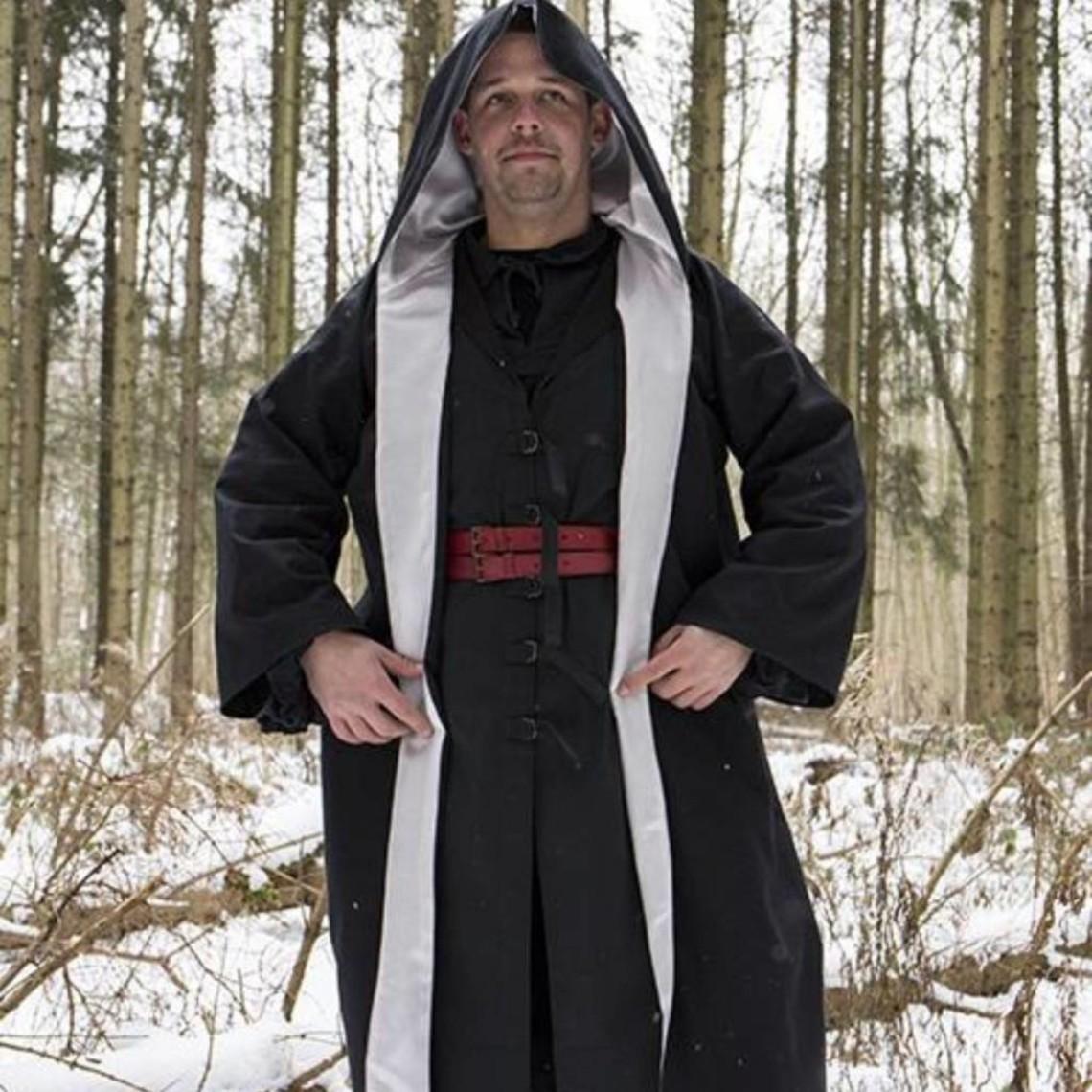 Epic Armoury Bata de mago, negro-plata