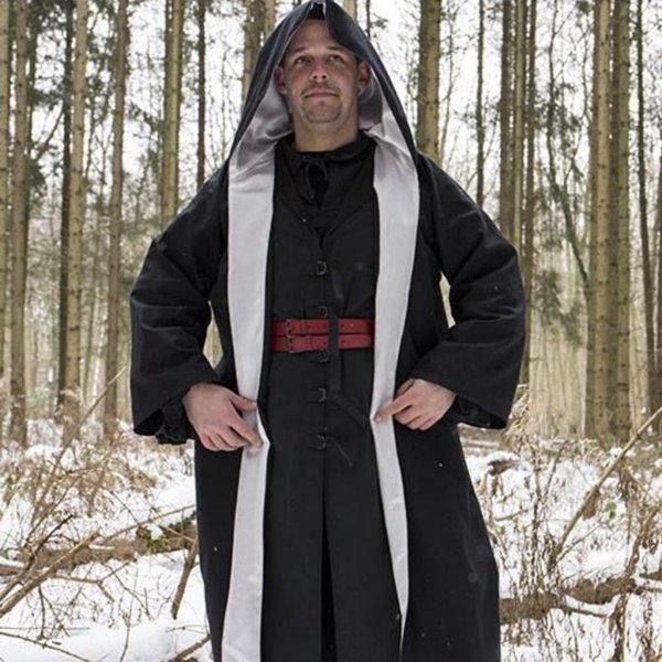 Epic Armoury Tovenaarsgewaad zwart-zilver