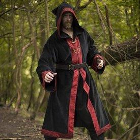 Epic Armoury Wizard Robe Harry, schwarz-rot