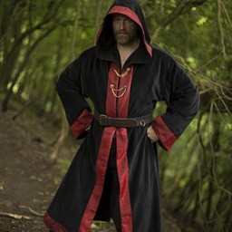 Wizard robe Harry, black-red