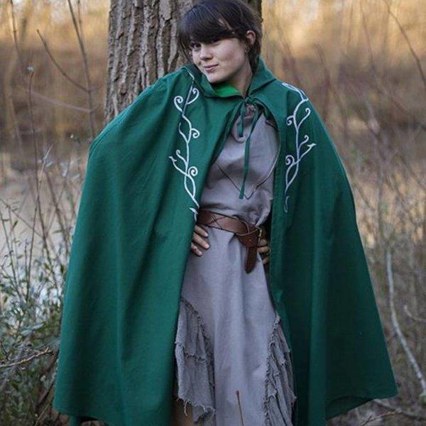 Epic Armoury Geborduurde mantel Terra, groen