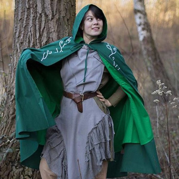 Epic Armoury Embroidered cloak Terra, green