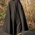 Epic Armoury (Early) średniowieczna czarna peleryna Robert