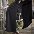 Epic Armoury Cape noire médiévale Robert