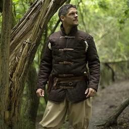 Cinturón medieval gambeson marron