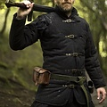 Epic Armoury Gambeson medievale con cinture nero