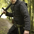 Epic Armoury Medieval belt gambeson black
